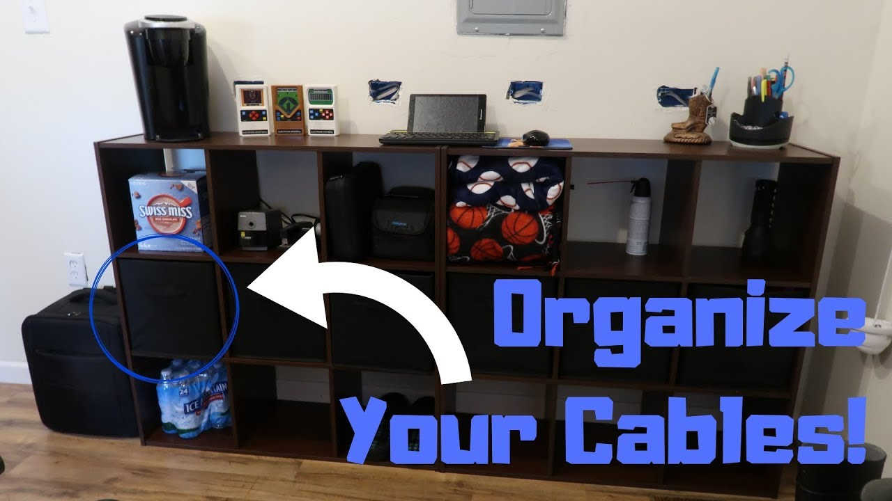 Cable Organization Tips & Tricks