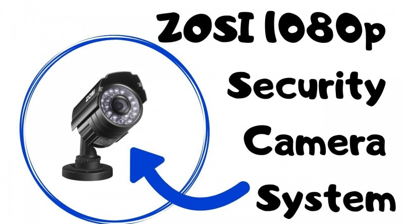 ZOSI 4 Channel 1080p Security Camera System Review