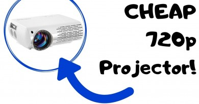 Crenova XPE660 720p Native Video Projector Review